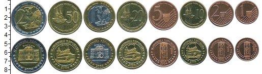 Изображение Наборы монет Словакия Набор 2004 года 2004  UNC