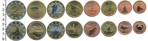Изображение Наборы монет Дания Дания 2006 2006  UNC Проба. В наборе 8 мо