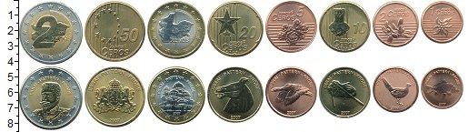 Изображение Наборы монет Болгария Болгария 2007 2007 Биметалл UNC Проба. В наборе 8 мо