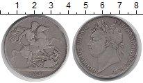 Изображение Монеты Великобритания 1 крона 1821 Серебро VF