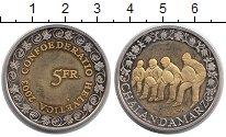 Изображение Монеты Швейцария 5 франков 2003 Биметалл UNC