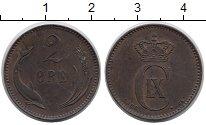 Изображение Монеты Дания 2 эре 1886 Медь XF