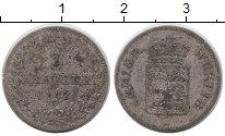 Изображение Монеты Германия Вюртемберг 3 крейцера 1842 Серебро VF