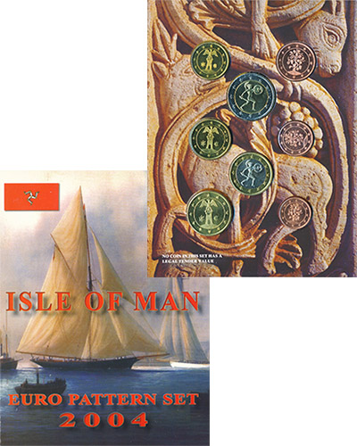 Изображение Подарочные наборы Остров Мэн Европробы 2004 2004  UNC