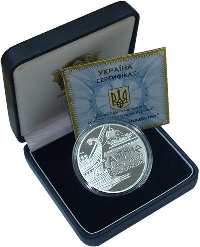 Изображение Подарочные наборы Украина Морская история Украины 2012 Серебро Proof