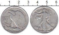 Изображение Монеты США 1/2 доллара 1936 Серебро VF