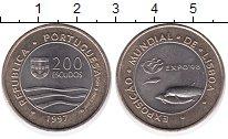 Изображение Монеты Португалия 200 эскудо 1997 Биметалл UNC