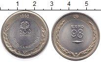 Изображение Монеты Португалия 200 эскудо 1998 Биметалл UNC- ЭКСПО98