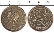 Изображение Монеты Польша 2 злотых 2012 Латунь UNC- Польша  в  Олимпиаде