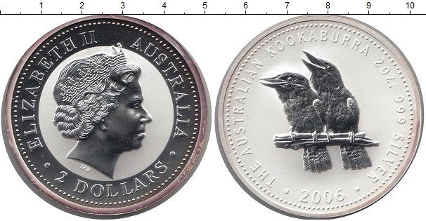 Монета кукабарра австралия серебро 2 копейки 2003 года украина цена рублями
