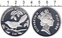 Изображение Монеты Фиджи 10 долларов 1995 Серебро Proof
