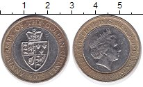Изображение Монеты Великобритания 2 фунта 2013 Биметалл XF