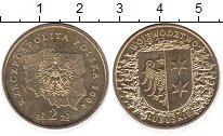 Изображение Монеты Польша 2 злотых 2004 Латунь UNC- Любушское воеводство