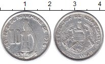 Изображение Монеты Гватемала Гватемала 1949 Серебро XF