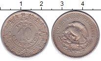 Изображение Монеты Мексика 10 сентаво 1937 Медно-никель XF-