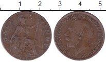 Изображение Монеты Великобритания 1/2 пенни 1916 Бронза XF