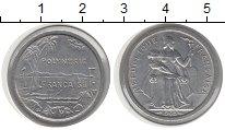 Изображение Монеты Полинезия 1 франк 1965 Алюминий XF