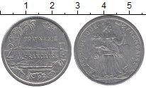 Изображение Монеты Полинезия 2 франка 2003 Алюминий XF