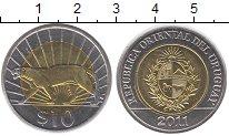 Изображение Монеты Уругвай Уругвай 2011 Биметалл UNC-