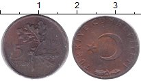Изображение Монеты Турция Турция 1973 Бронза XF