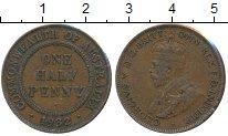 Изображение Монеты Австралия 1/2 пенни 1932 Бронза XF