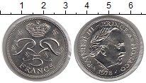Изображение Монеты Монако 5 франков 1978 Медно-никель XF