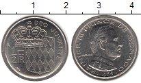 Изображение Монеты Монако 1/2 франка 1965 Медно-никель XF