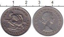 Изображение Монеты Новая Зеландия 1 шиллинг 1959 Медно-никель XF
