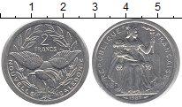 Изображение Монеты Новая Каледония 2 франка 1989 Алюминий UNC-