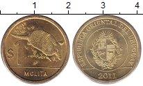 Изображение Монеты Уругвай 1 песо 2011 Латунь UNC-