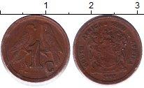 Изображение Монеты ЮАР 1 цент 1992 Бронза XF
