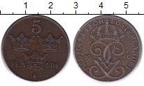 Изображение Монеты Швеция 5 эре 1940 Бронза XF
