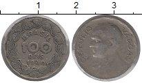 Изображение Монеты Бразилия 100 рейс 1940 Медно-никель XF