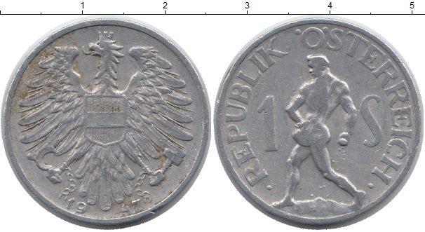 Картинка Барахолка Австрия 1 сентесимо Алюминий 1947