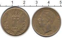 Изображение Барахолка Люксембург 5 франков 1988 Латунь VF