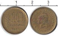 Изображение Барахолка Аргентина 10 сентаво 1974 Латунь VF