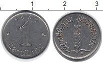 Изображение Дешевые монеты Франция 1 сантим 1968 Сталь XF