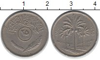 Изображение Дешевые монеты Ирак 25 филс 1975 Медно-никель XF-