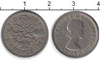 Изображение Барахолка Великобритания 6 пенсов 1964 Медно-никель XF
