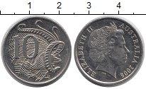 Изображение Барахолка Австралия 10 центов 2008 Медно-никель XF
