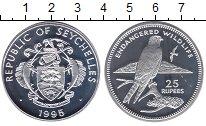 Изображение Монеты Сейшелы 25 рупий 1995 Серебро Proof Защитим  дикую  прир
