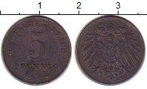 Изображение Монеты Германия 5 пфеннигов 1918 Железо XF-