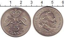 Изображение Монеты Монако 5 франков 1974 Медно-никель UNC