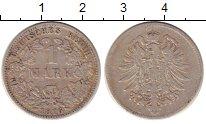 Изображение Монеты Германия 1 марка 1876 Серебро XF