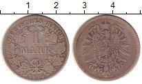Изображение Монеты Германия 1 марка 1874 Серебро XF