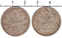 Изображение Монеты Германия 1 марка 1902 Серебро XF