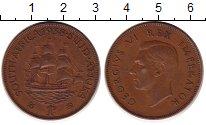 Изображение Монеты ЮАР 1 цент 1938 Медь XF