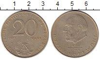 Изображение Монеты ГДР 20 марок 1973 Медно-никель XF