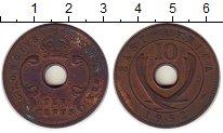 Изображение Монеты Великобритания Восточная Африка 10 центов 1952 Медь VF