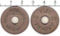 Изображение Монеты Фиджи 1 пенни 1959 Медно-никель VF